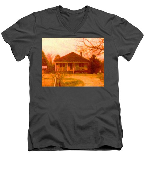 The Old Home Place Men's V-Neck T-Shirt