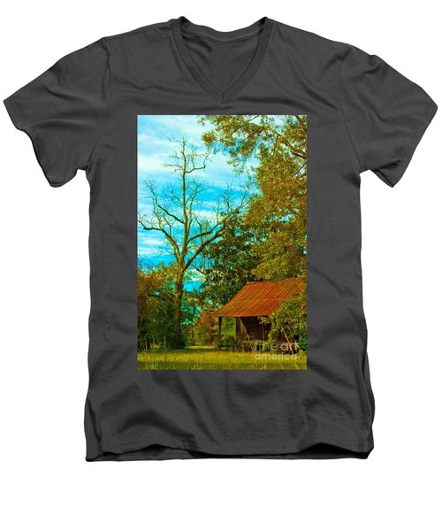 The Old Homestead 2 Men's V-Neck T-Shirt