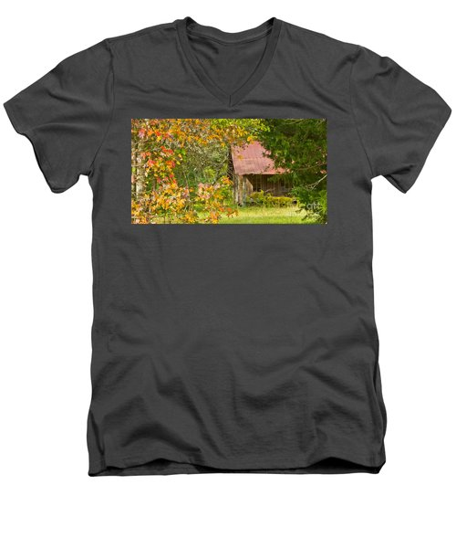 The Old Homestead 3 Men's V-Neck T-Shirt