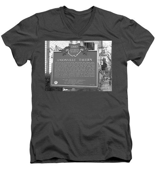 The Old Tavern II Men's V-Neck T-Shirt