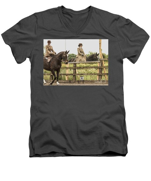 The Other Side Of The Saddle Men's V-Neck T-Shirt