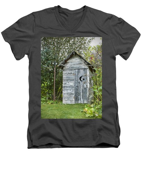 The Outhouse Men's V-Neck T-Shirt