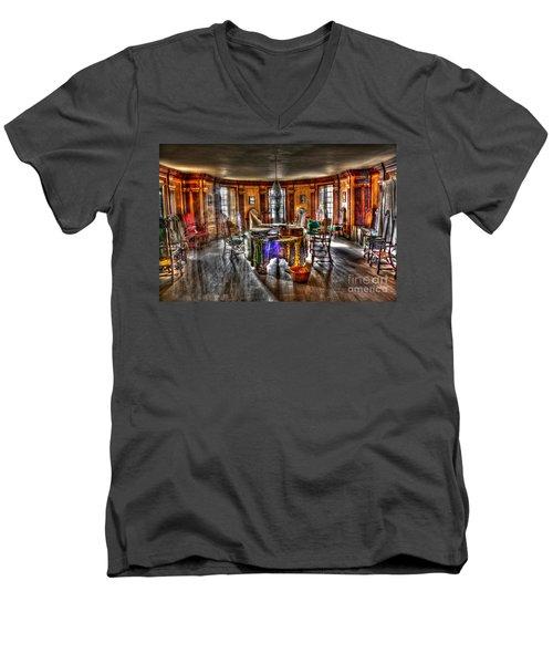 The Parlor Visit Men's V-Neck T-Shirt
