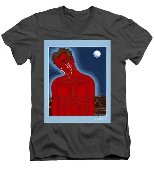 The Passion Of Matthew Shepard 096 Men's V-Neck T-Shirt