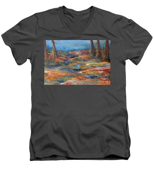 The Path 1 Men's V-Neck T-Shirt