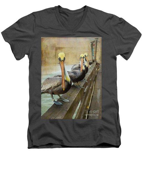 The Pelican Gang Men's V-Neck T-Shirt