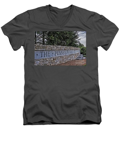 The Pennsylvania State University Men's V-Neck T-Shirt