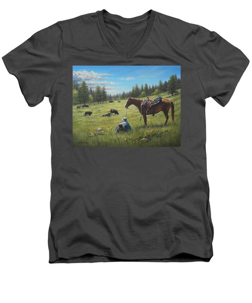 The Perfect Day Men's V-Neck T-Shirt