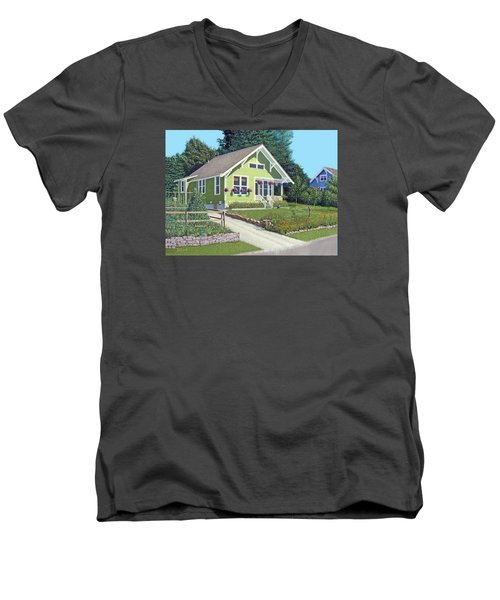Our Neighbour's House Men's V-Neck T-Shirt