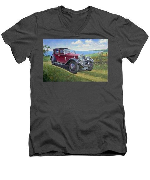 The Picnic Men's V-Neck T-Shirt