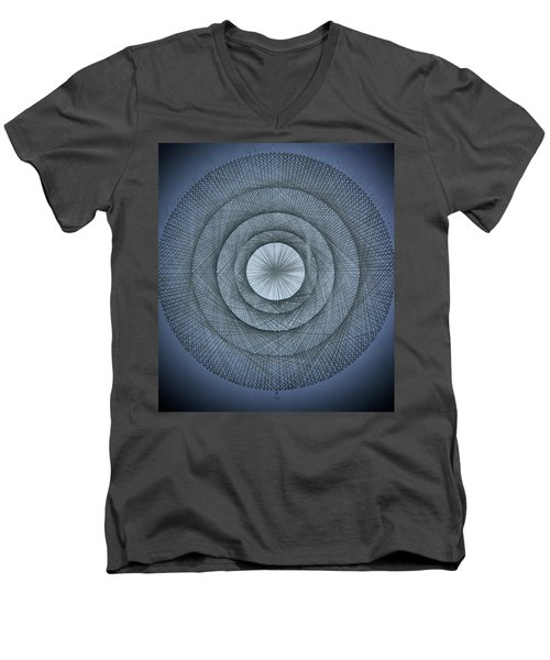 The Power Of Pi Men's V-Neck T-Shirt by Jason Padgett