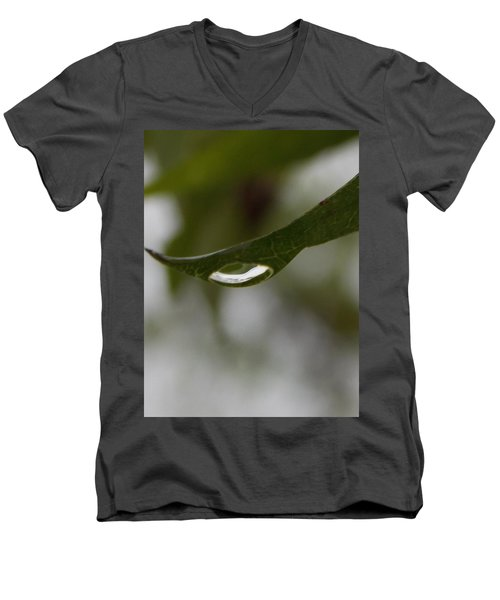 Men's V-Neck T-Shirt featuring the photograph Perception by John Glass