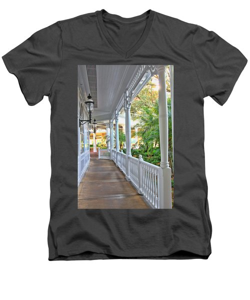 The Promenade Men's V-Neck T-Shirt