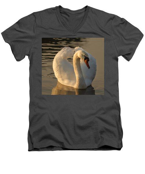 Men's V-Neck T-Shirt featuring the photograph The Pure In Heart by Rose-Maries Pictures