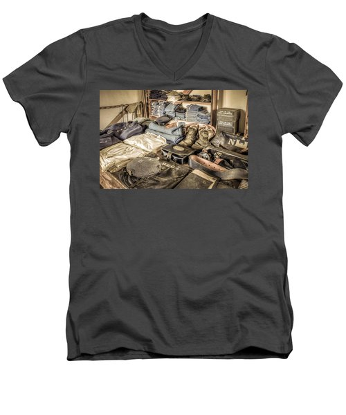 The Quatermaster Men's V-Neck T-Shirt