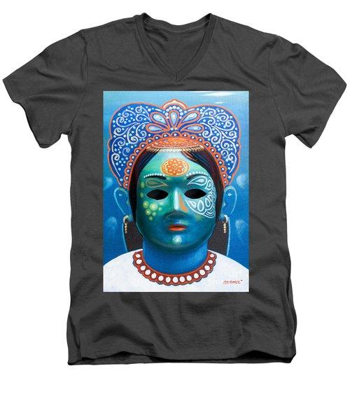 The Queen Men's V-Neck T-Shirt