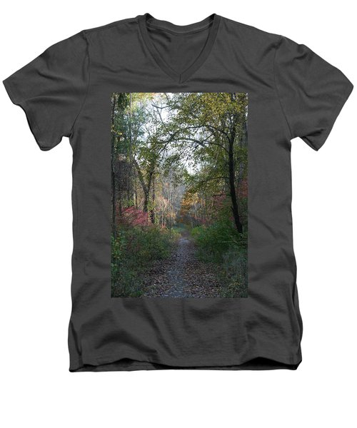 The Road Ahead No.2 Men's V-Neck T-Shirt