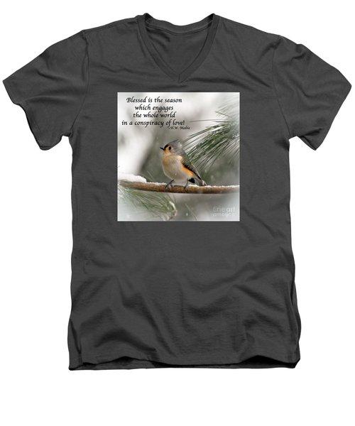 The Season Of Love  Men's V-Neck T-Shirt