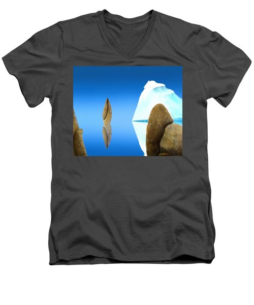 The Show Off Men's V-Neck T-Shirt