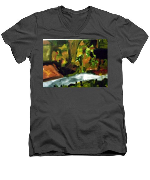 The Sidewalk  Men's V-Neck T-Shirt