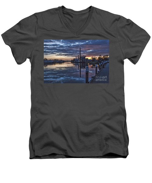 The Sky Is Crying Men's V-Neck T-Shirt