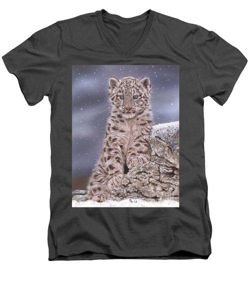 The Snow Prince Men's V-Neck T-Shirt