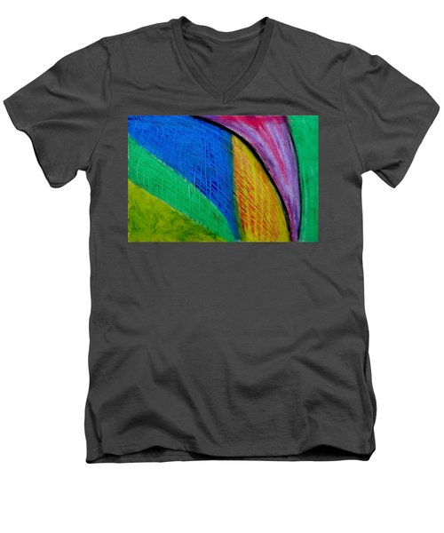 The Speed Of Light Men's V-Neck T-Shirt