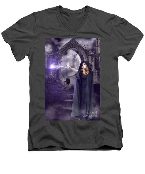 The Spell Is Cast Men's V-Neck T-Shirt