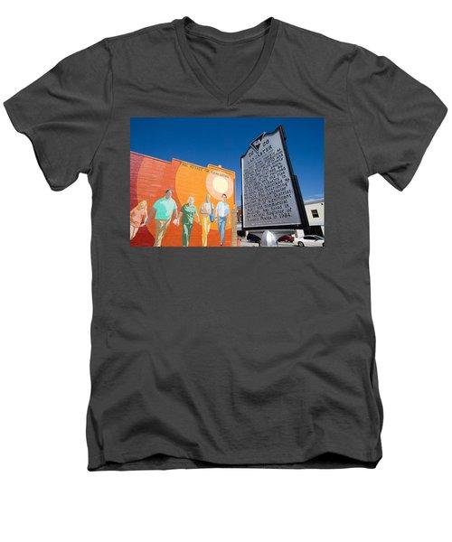 The Spirit Of Lancaster Men's V-Neck T-Shirt