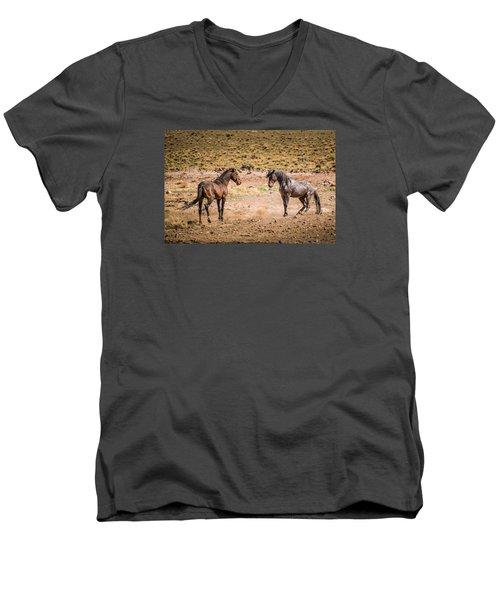 The Standoff  Men's V-Neck T-Shirt