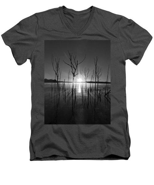 The Star Arrives Men's V-Neck T-Shirt by Raymond Salani III