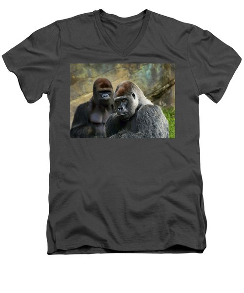 The Stare Men's V-Neck T-Shirt
