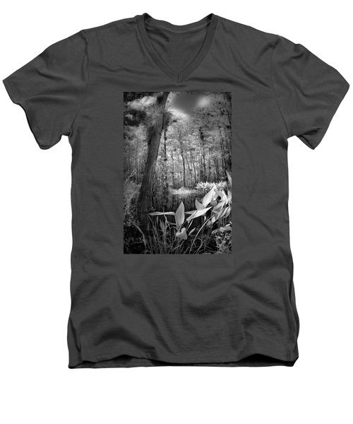Men's V-Neck T-Shirt featuring the photograph The Strand by Bradley R Youngberg