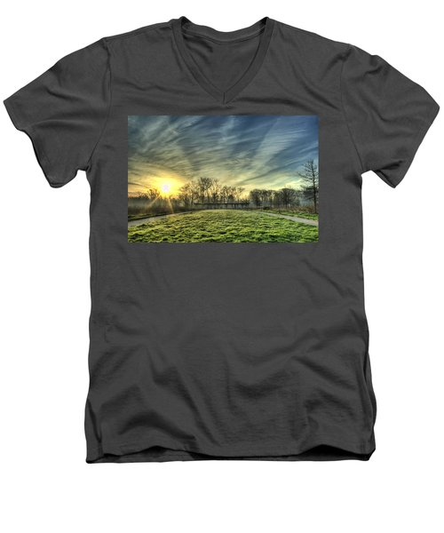 The Sun Shines Through Men's V-Neck T-Shirt