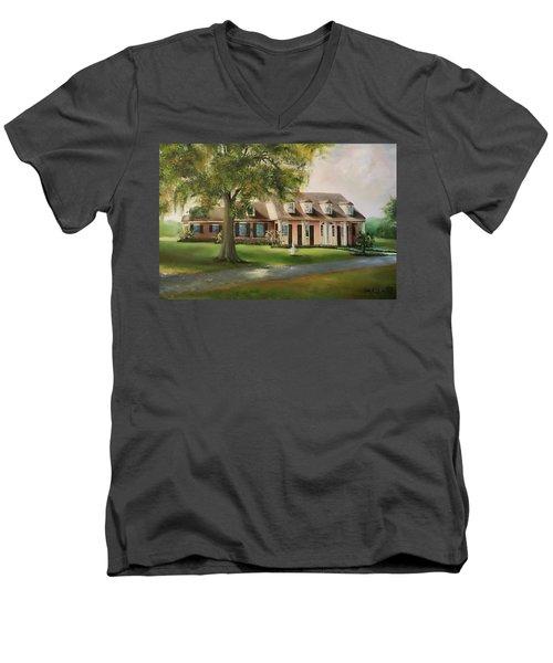 The Sunrise House Men's V-Neck T-Shirt