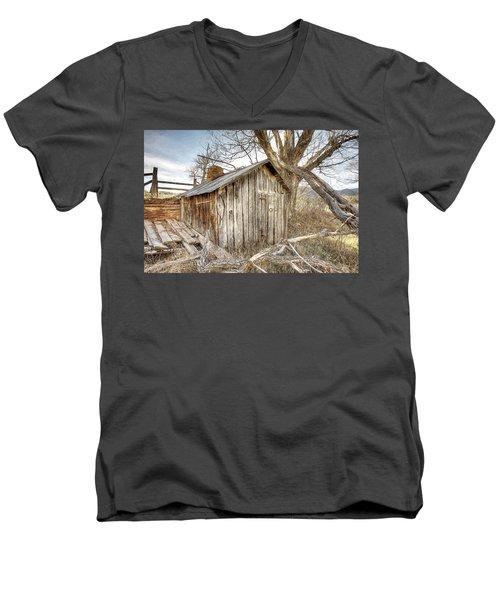 The Tack Shed Men's V-Neck T-Shirt