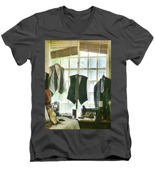 The Tailor Shop Men's V-Neck T-Shirt