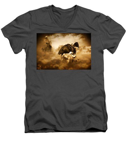 The Takedown Men's V-Neck T-Shirt