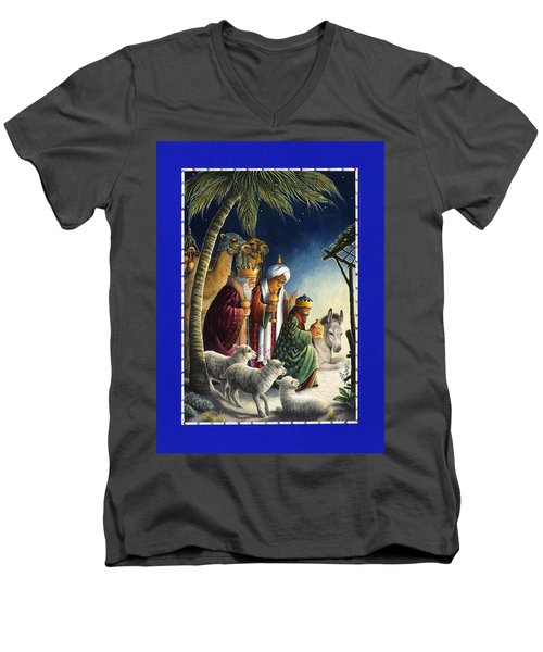 The Three Kings Men's V-Neck T-Shirt