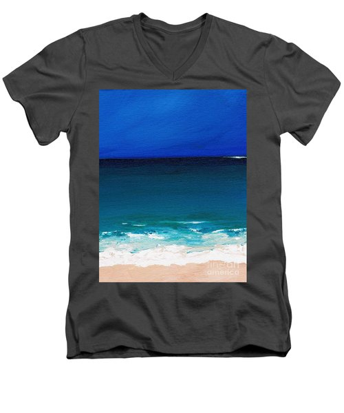 The Tide Coming In Men's V-Neck T-Shirt