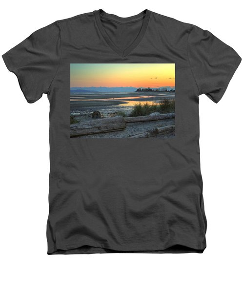 The Tide Is Low Men's V-Neck T-Shirt