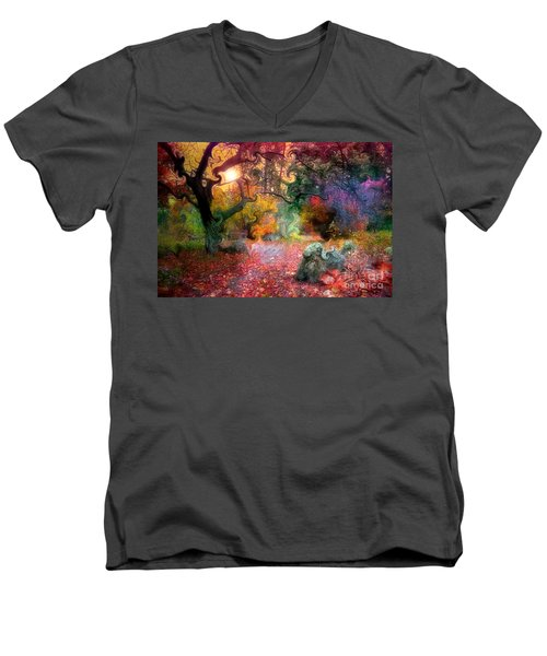 The Tree Where I Used To Live Men's V-Neck T-Shirt