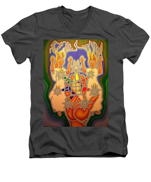 The Two Witnesses  Men's V-Neck T-Shirt