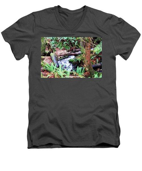 The Unknown Creek Men's V-Neck T-Shirt