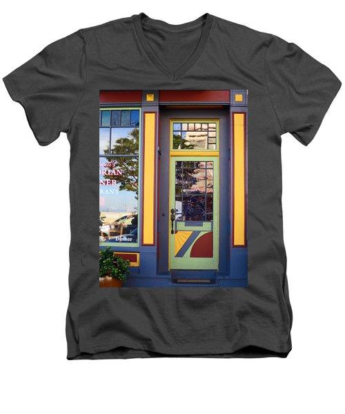 The Victorian Diner Men's V-Neck T-Shirt