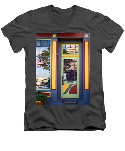 The Victorian Diner Men's V-Neck T-Shirt