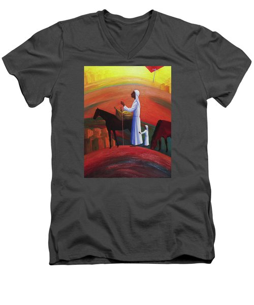 The Wandering Mary Magdalene Men's V-Neck T-Shirt