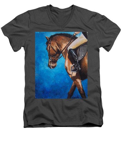 The Warm Up Men's V-Neck T-Shirt