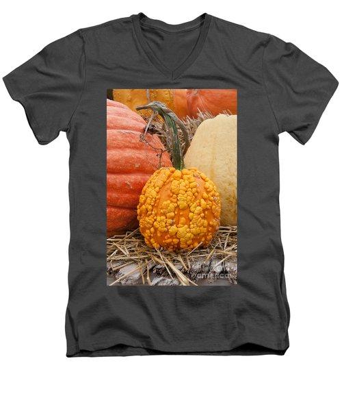The Warty One Men's V-Neck T-Shirt by Minnie Lippiatt