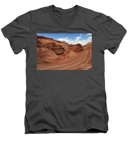 The Wave Center Of The Universe Men's V-Neck T-Shirt